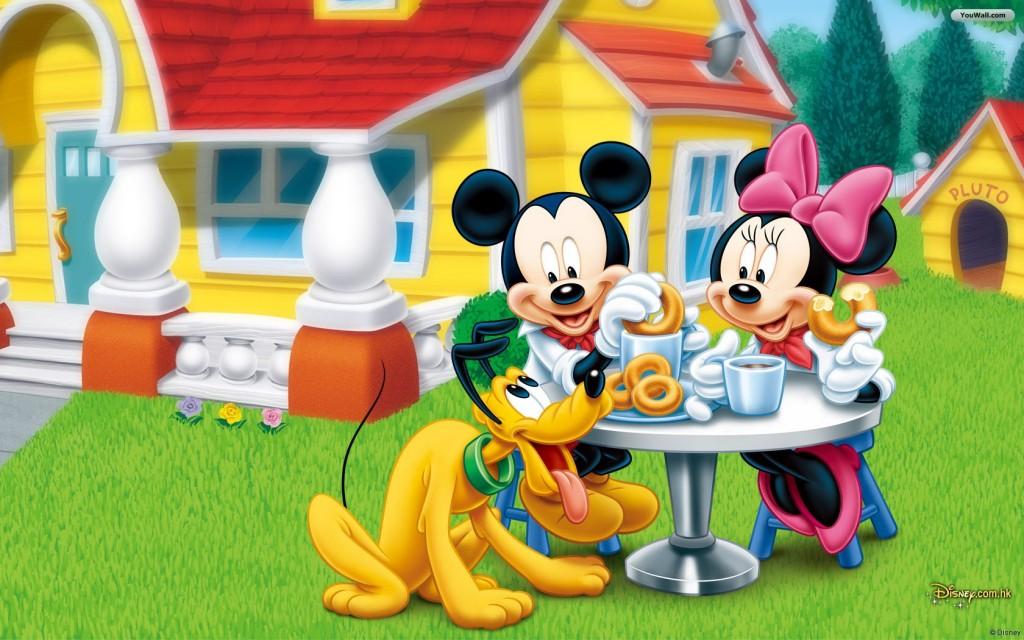 Tea Time Mickey Mouse - Tea Time Mickey Mouse