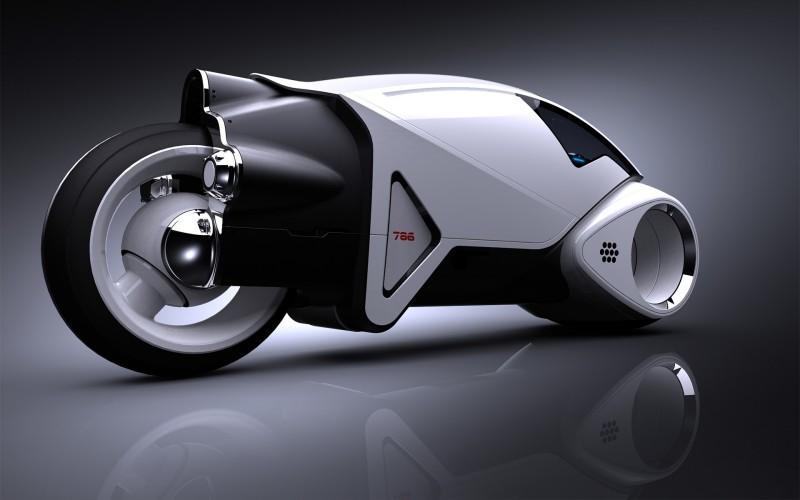 Tron Prototype Motorbike Design - Tron Prototype Motorbike Design