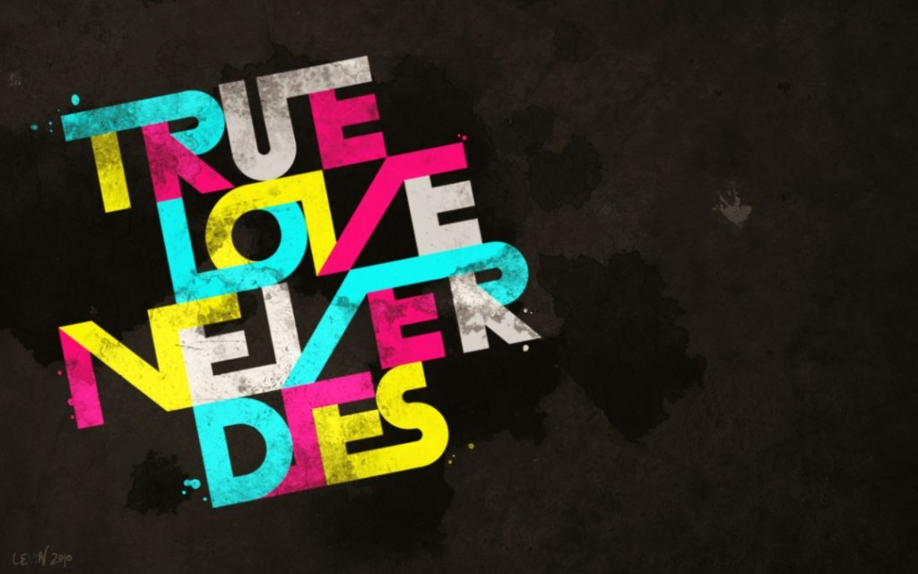 True Love Text Art - True Love Text Art