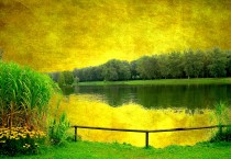 Yellow Lakes Landscape - Yellow Lakes Landscape