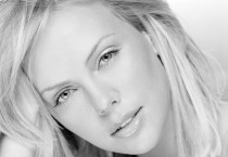 Charlize Theron Black and White