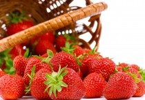 Strawberries Spilling out of Basket