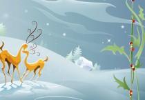 Reindeer and Mistletoe