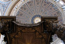 Saint Peter's Basilica in Roma Italy