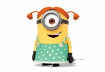 Pig-tailed Girl Minion