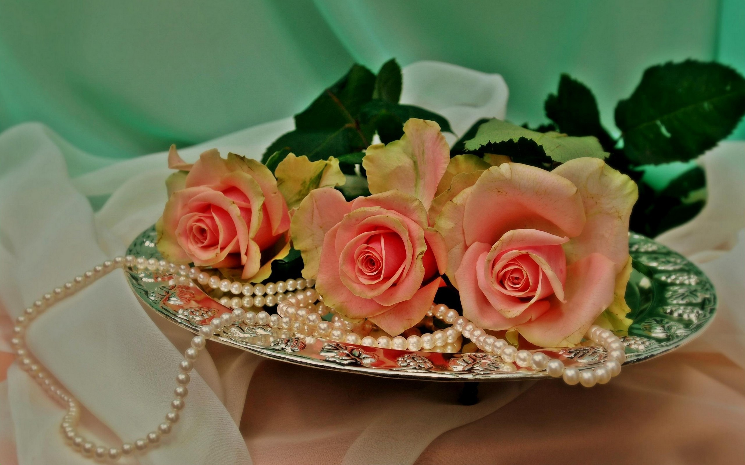 roses and pearls - photo #35