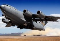 Boeing C-17 Globemaster III Taking Off