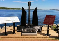 Memorial Dedicated to Canada's Merchant Navy in DeWolf Park