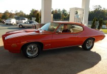 Carousel Red 1969 Pontiac GTO 'The Judge' - Driver's Side