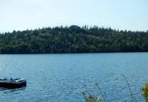 Huge House on Hill Overlooking Lake