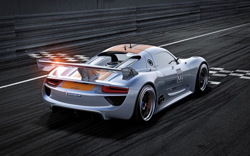 Electric Powered Porsche 918