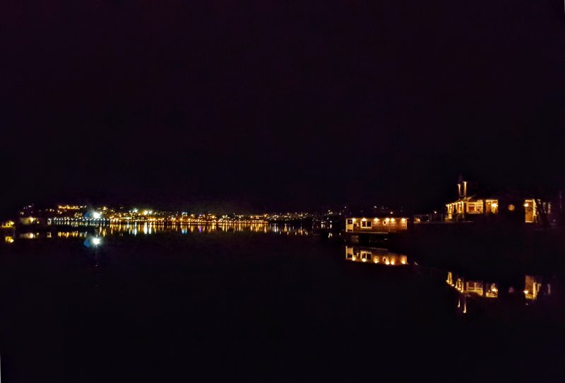 Bedford Lights on Calm Basin