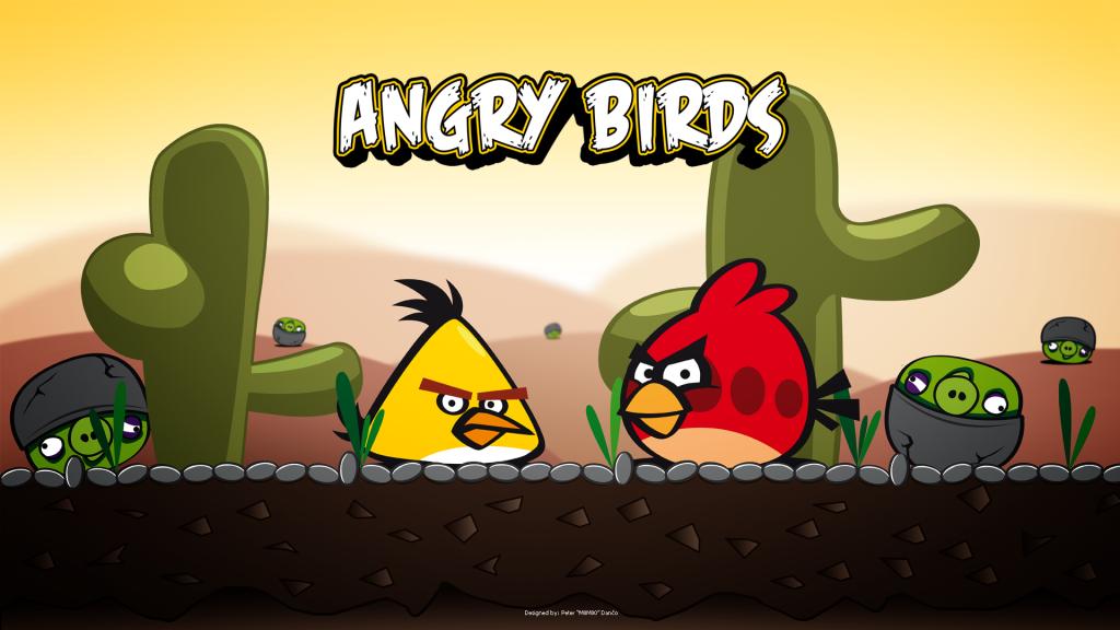 Angry Birds Wallpaper - Angry Birds Wallpaper