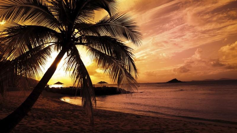 Beach Colors In Twilight - Beach Colors In Twilight
