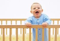 Cute Little Babies on Crib - Cute Little Babies on Crib
