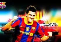 David Villa Barcelona Wallpaper - David Villa Barcelona Wallpaper