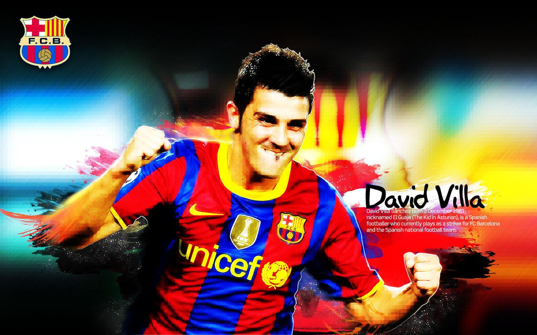 David Villa Barcelona Wallpaper - David Villa Barcelona Wallpaper