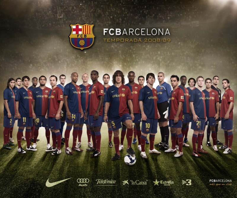 FC Barca Squad Team - FC Barca Squad Team