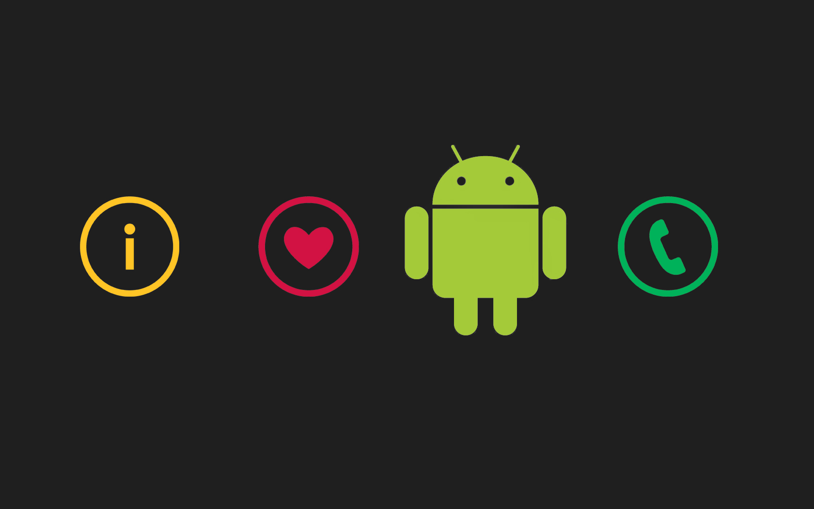 I Love Android Wallpaper - I Love Android Wallpaper