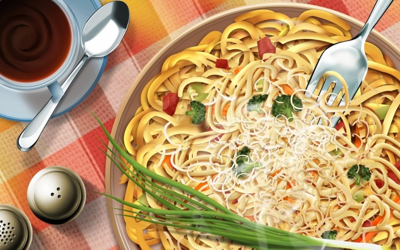 Pasta Dinner Wallpaper - Pasta Dinner Wallpaper