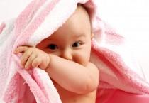 Towel On Cute Baby Boy - Towel On Cute Baby Boy
