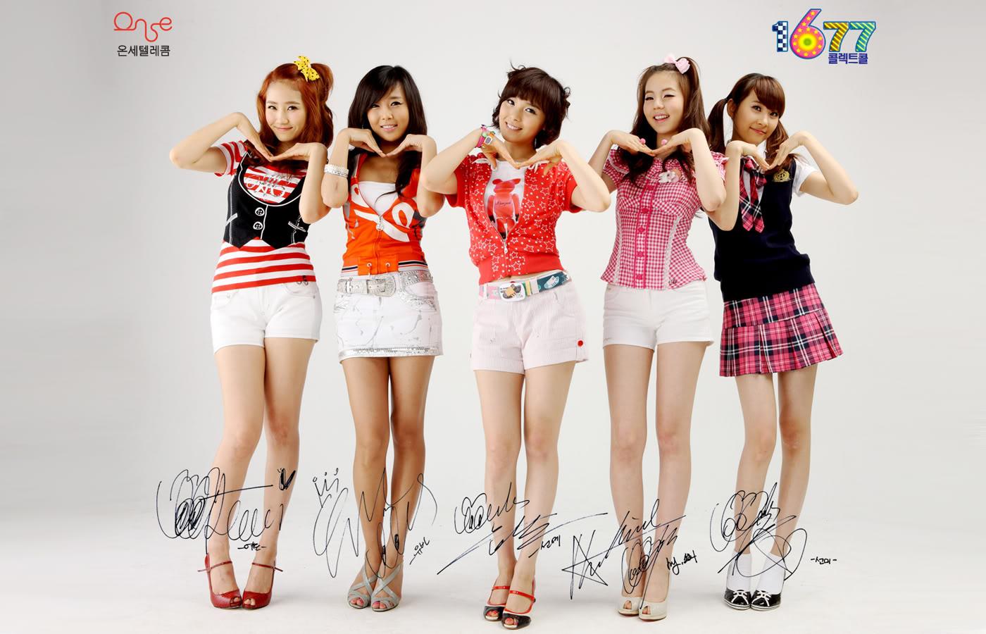 Wonder Girls Wallpaper - Wonder Girls Wallpaper
