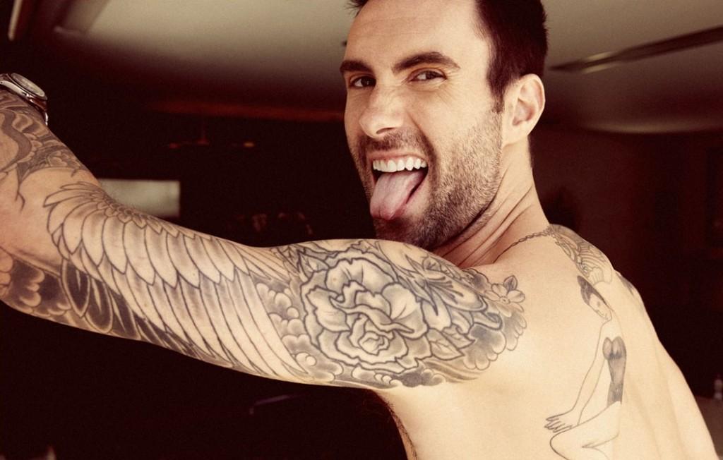 Adam Levine Tatto - Adam Levine Tatto