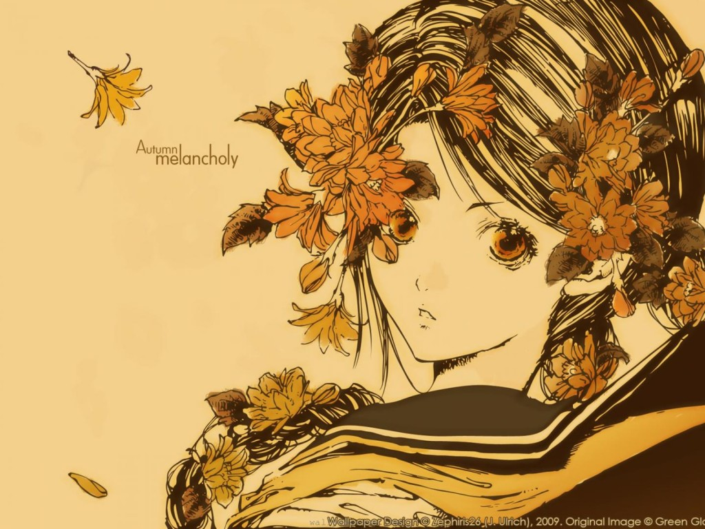 Anime Autumn Melancholy - Anime Autumn Melancholy