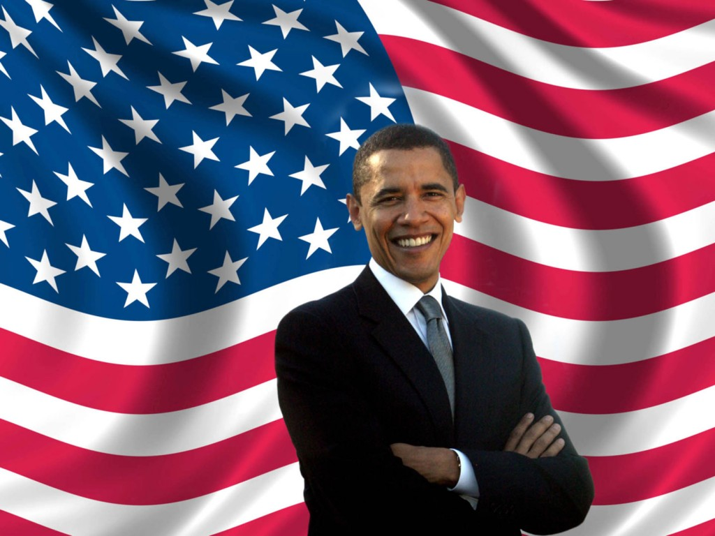 Barack Obama Flagged - Barack Obama Flagged