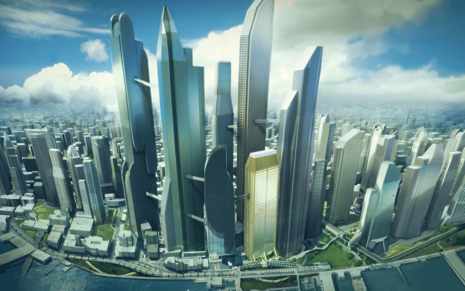 Beautiful Architecture City - Beautiful Architecture City