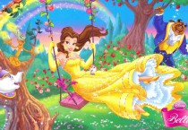 Beauty Princess On Swing - Beauty Princess On Swing