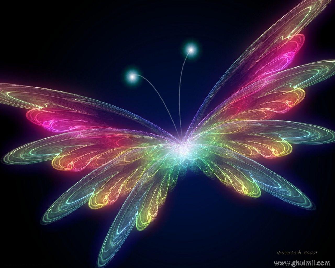 Digital Shine Butterfly - Digital Shine Butterfly