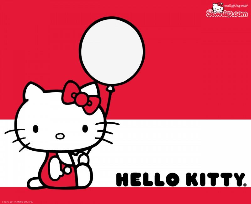 Hello Kitty And Ballon - Hello Kitty And Ballon
