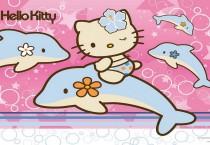 Hello Kitty with Dolphin - Hello Kitty with Dolphin