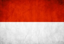Indonesian Flag Digital Art - Indonesian Flag Digital Art
