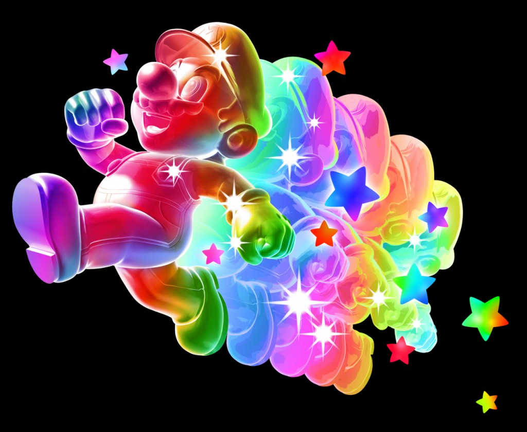 Rainbow Mario - Rainbow Mario