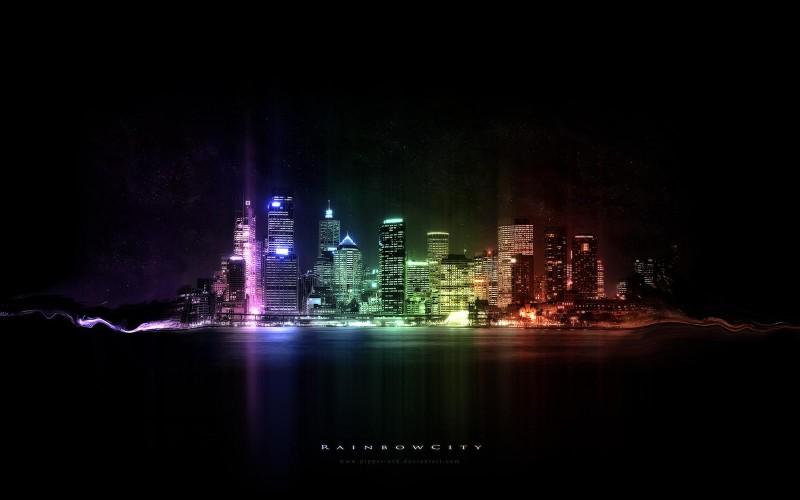 Rainbow Night City - Rainbow Night City