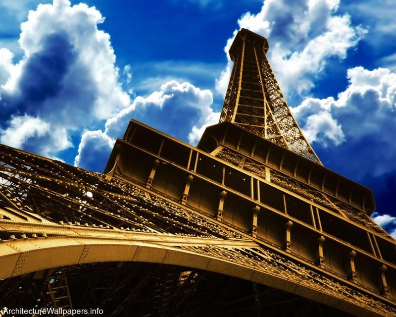 Side Of Eiffel Paris - Side Of Eiffel Paris
