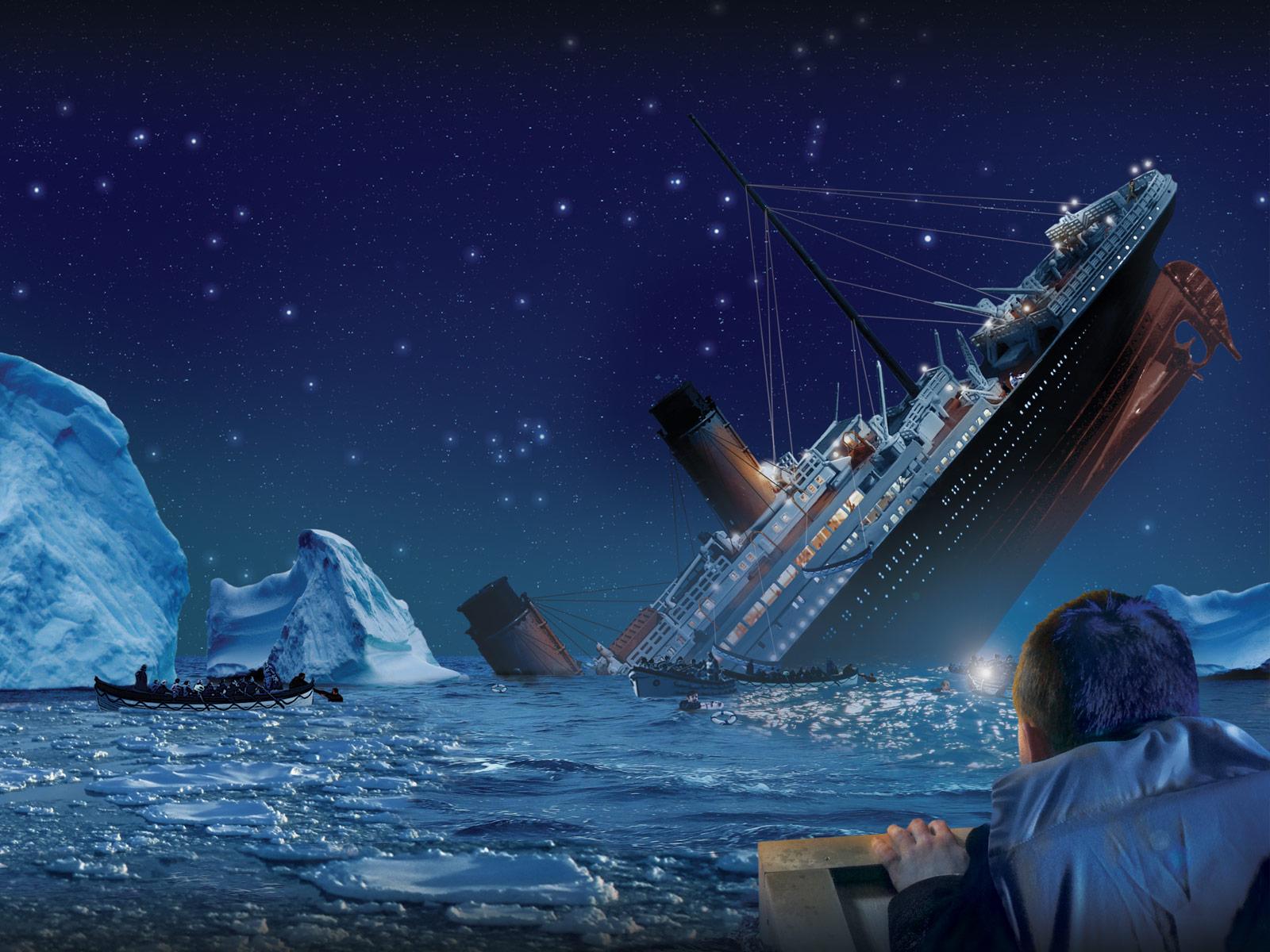 Sink Titanic Animated - Sink Titanic Animated