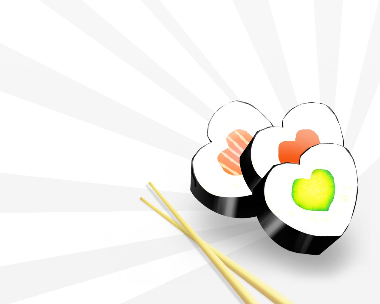 Прикольные картинки на тему суши, днем рождения