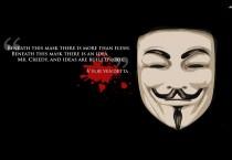 V For Vendetta Quote - V For Vendetta Quote