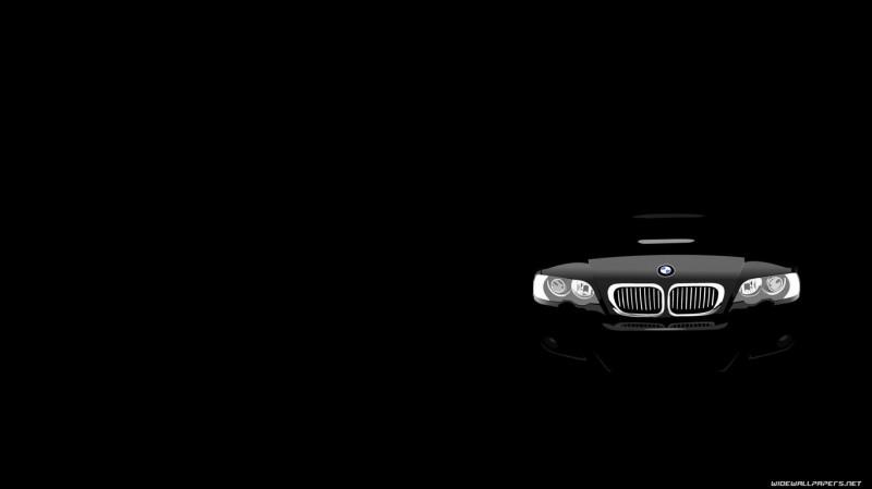 BMW Black Wallpaper - BMW Black Wallpaper
