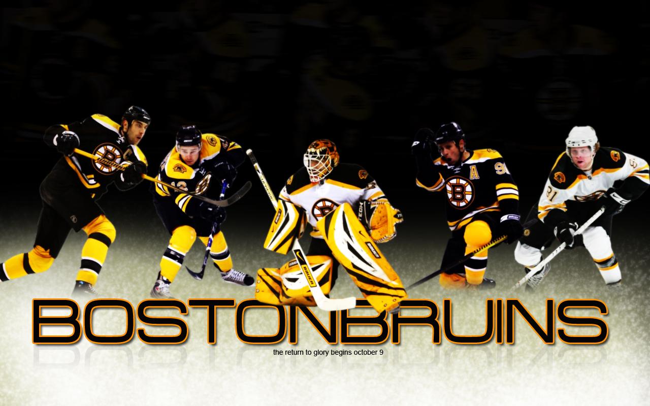 Boston Bruins Wide Background