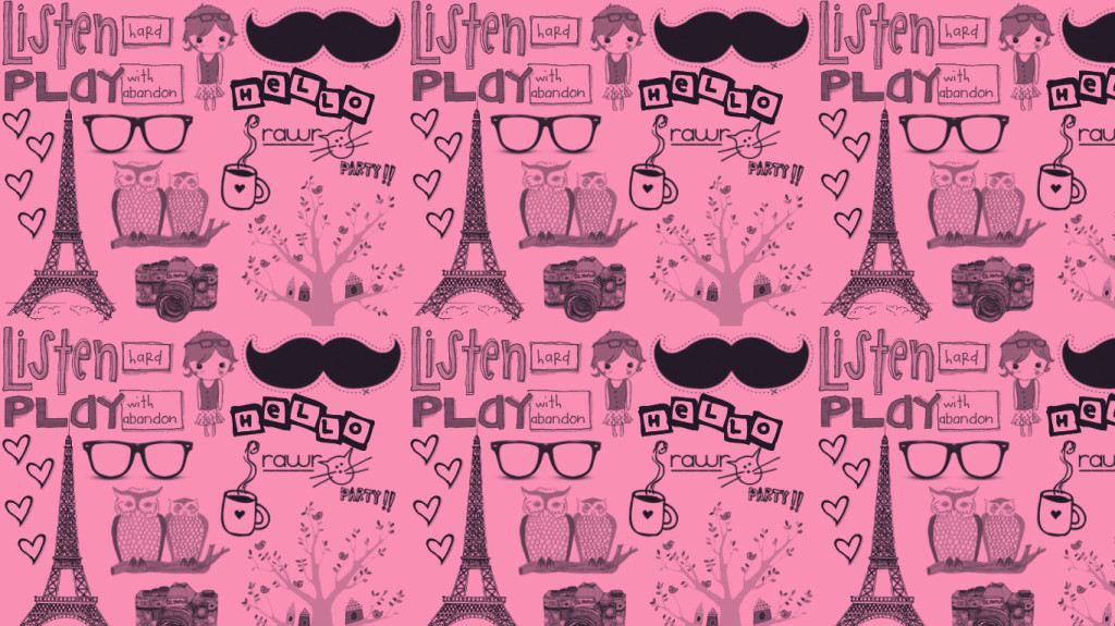 Paris Pink Wallpaper - Paris Pink Wallpaper