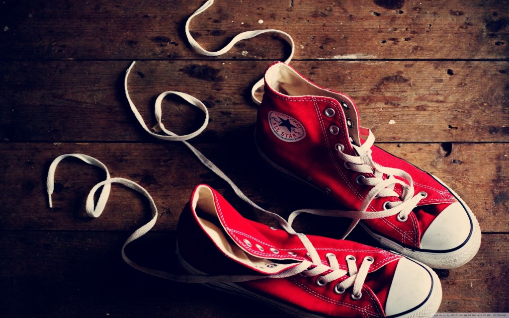 Red Converse Shoes - Red Converse Shoes