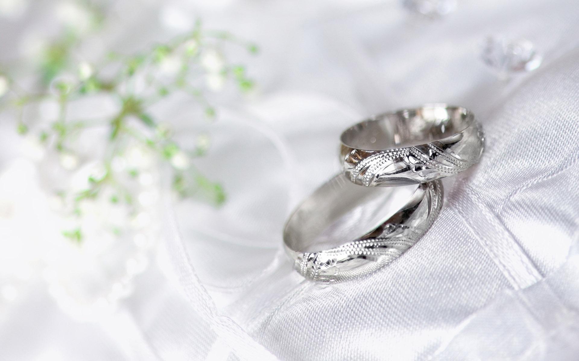 Silver Wedding Ring - Silver Wedding Ring