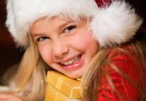 Smiling Girl In Christmas - Smiling Girl In Christmas