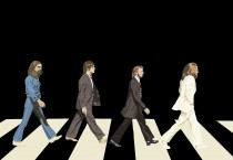 The Beatles Abbey Road Black And White - The Beatles Abbey Road Black And White
