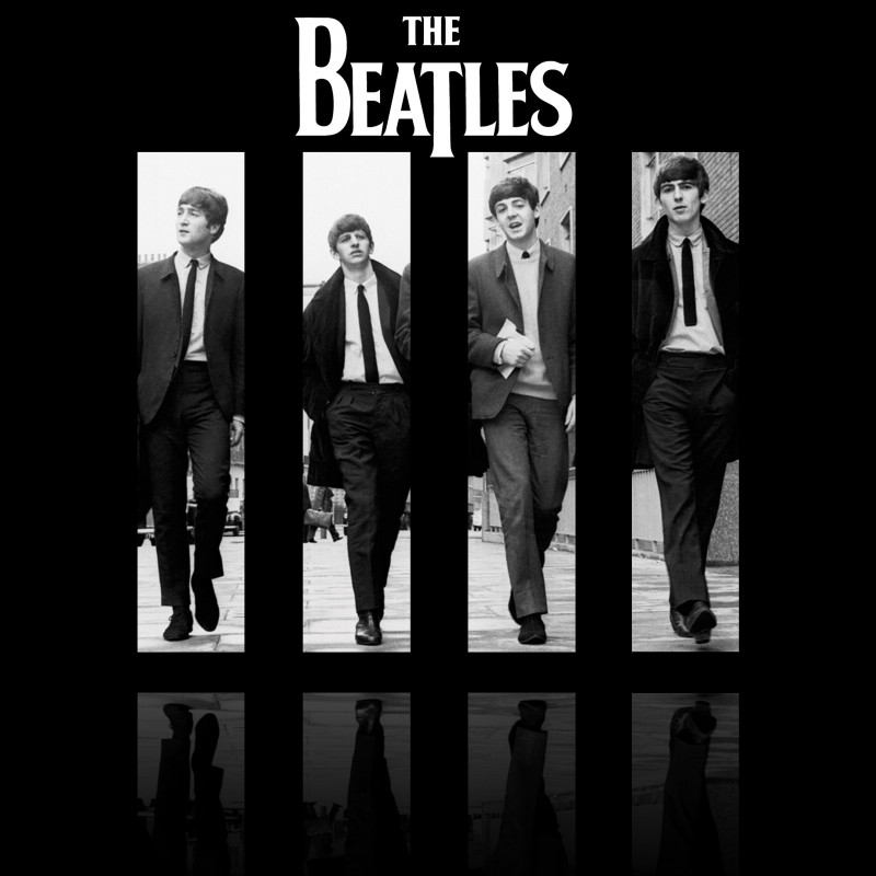 The Beatles Poster - The Beatles Poster