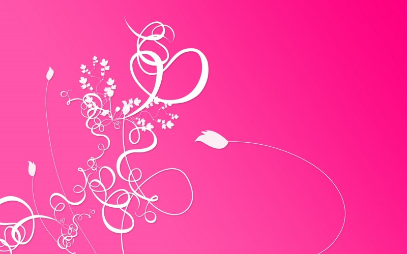 Abstrack Flower Pink Background - Abstrack Flower Pink Background